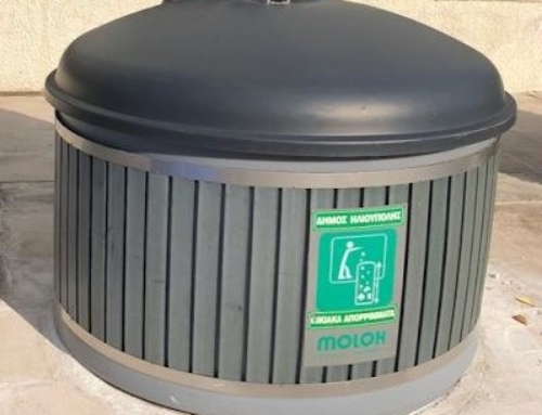 Έξυπνοι αισθητήρες recycSense στους υπόγειους κάδους του Δήμου Ηλιούπολης